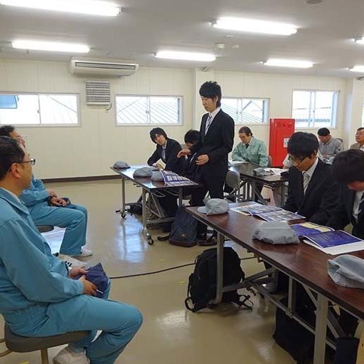 三沢市 「企業見学会」を実施しました。