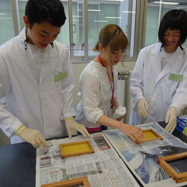 「化学の学校」が開催されました。