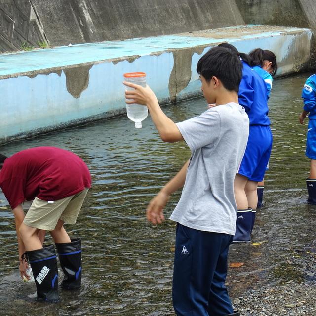公開講座「水の環境調査」が開催されました。