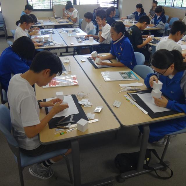 公開講座「建築模型」が開催されました。