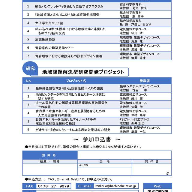 「平成29年度プロジェクト成果報告会」を開催します。【平成30年5月31日】