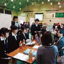 キャリア教育プログラム(企業内容説明会)