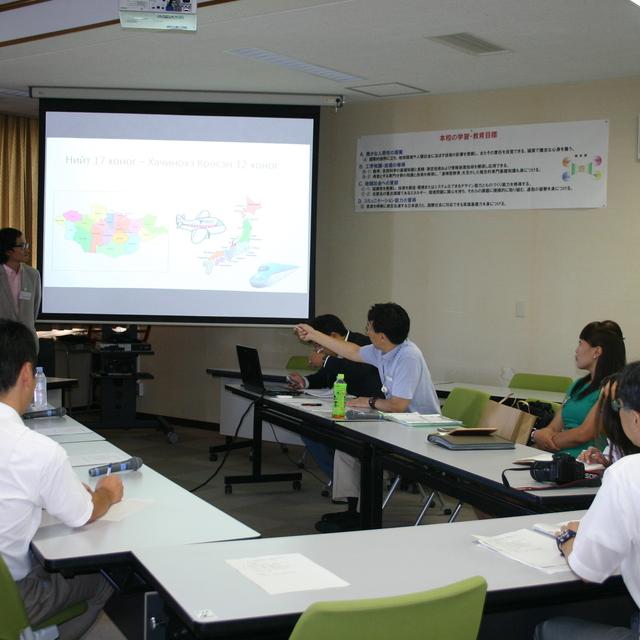 モンゴル高専教員研修(JICA委託事業)を実施しました