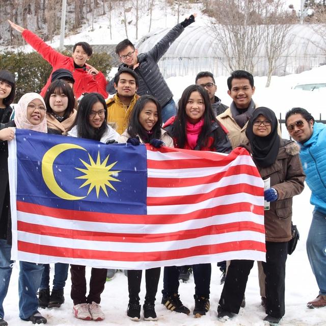 マレーシアの留学生10名を受け入れました